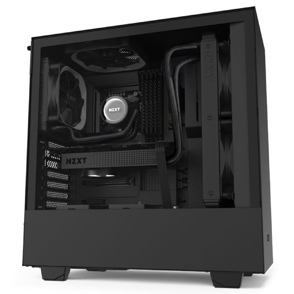 NZXT H510 Elite Matte Black Mid Tower Case
